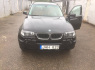 BMW X3 2006 m., Visureigis