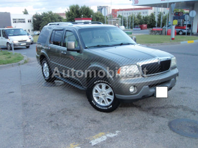 Lincoln Aviator 2004 m., Visureigis