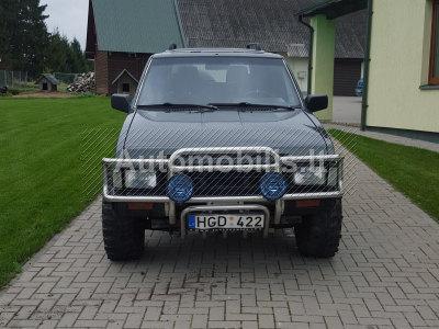 Nissan Terrano 1991 m., Visureigis