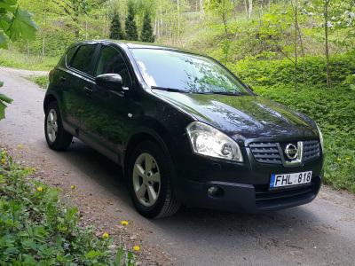 Nissan Qashqai 2008 m., Visureigis