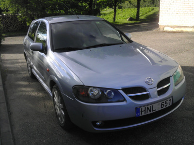Nissan Almera 2004 m., Hečbekas