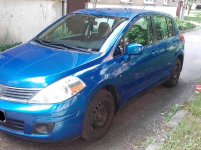Nissan Tiida 2008 m., Hečbekas