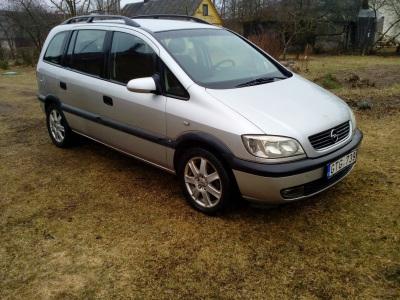 Opel Zafira 1999 m., Vienatūris