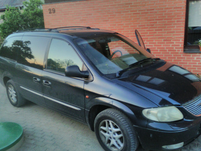 Chrysler Grand Voyager 2001 m., Vienatūris