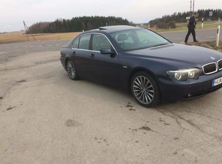BMW 730 2002 m., Sedanas