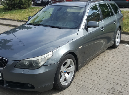 BMW 525 2004 m., Universalas