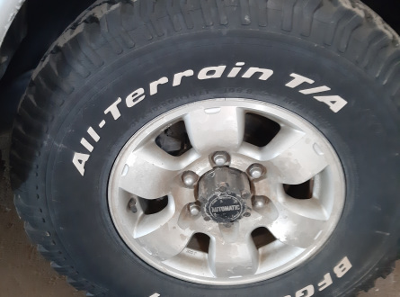 Nissan -kita- 2000 m., Pikapas