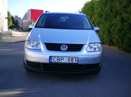 Volkswagen Touran 2006 m., Vienatūris