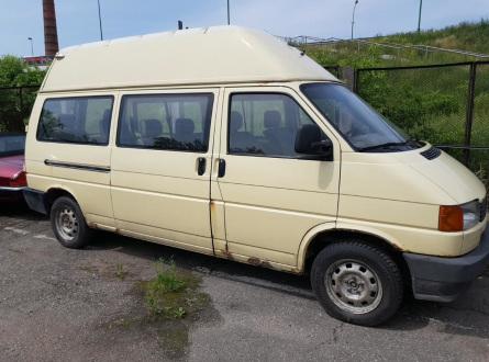 Volkswagen Transporter 1995 m., Vienatūris