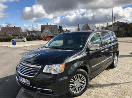 Chrysler Town & Country 2014 m., Vienatūris