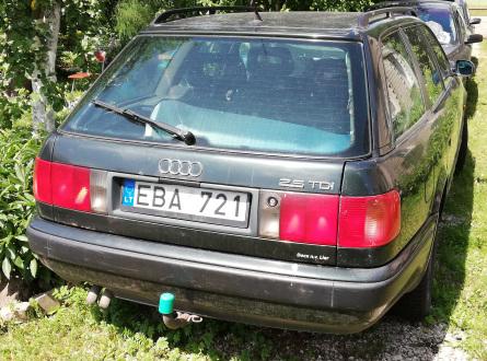 Audi A6 1993 m., Universalas