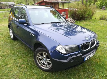 BMW X3 2004 m., Visureigis