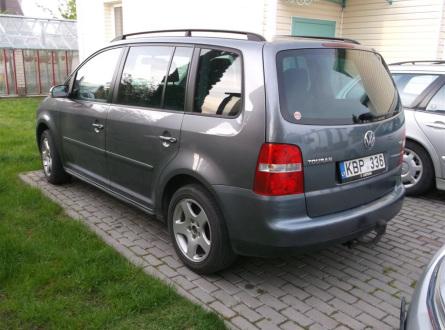 Volkswagen Touran 2005 m., Vienatūris