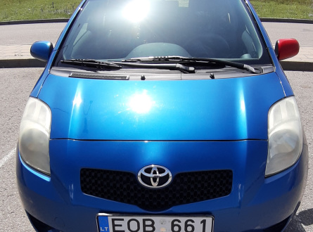 Toyota Yaris 2008 m., Hečbekas
