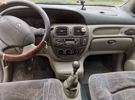 Renault Scenic 1999 m., Hečbekas