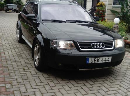 Audi A6 Allroad 2003 m., Universalas