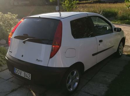 Fiat Punto 2000 m., Hečbekas