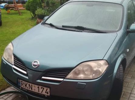 Nissan Primera 2002 m., Universalas