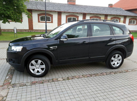 Chevrolet Captiva 2011 m., Visureigis