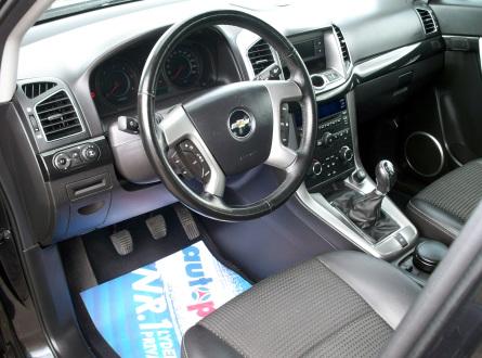 Chevrolet Captiva 2011 m., Visureigis