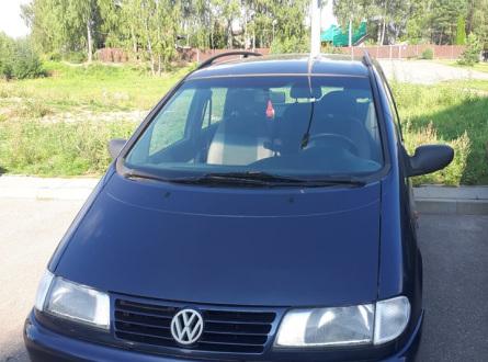 Volkswagen Sharan 1997 m., Vienatūris