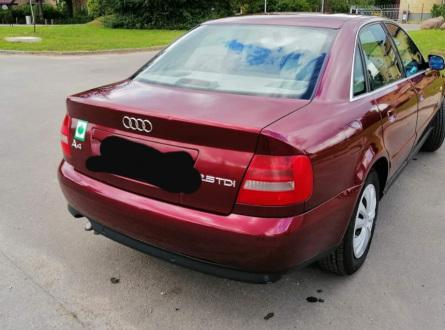 Audi A4 2000 m., Hečbekas