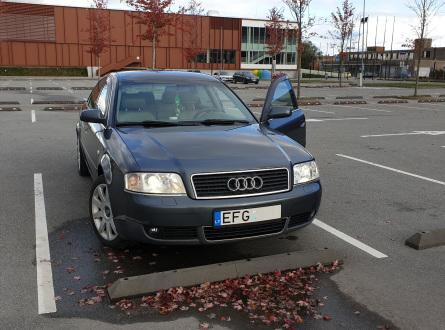Audi A6 2002 m., Sedanas