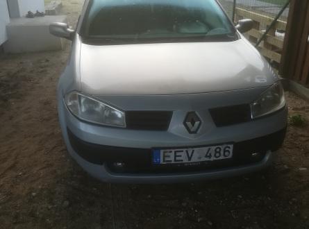 Renault Megane 2003 m., Hečbekas