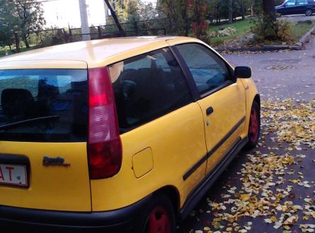 Fiat Punto 1999 m., Hečbekas