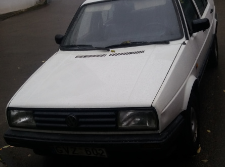 Volkswagen Jetta 1988 m., Sedanas
