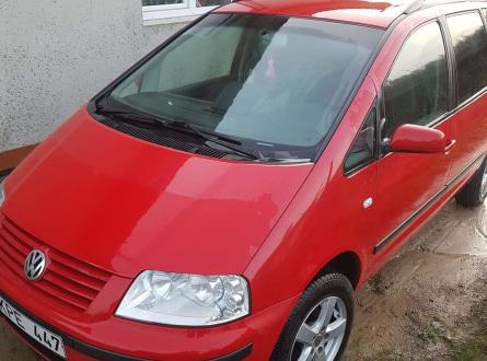 Volkswagen Sharan 2000 m., Vienatūris