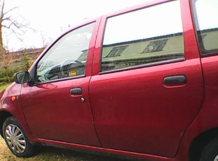 Fiat Punto 1995 m., Hečbekas