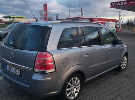 Opel Zafira 2005 m., Vienatūris