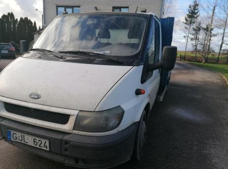 Ford Transit 2001 m., Komercinis