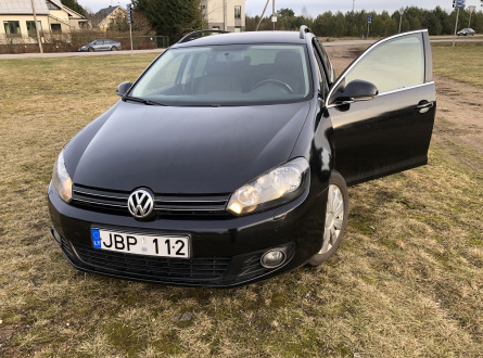 Volkswagen Golf 2012 m., Universalas