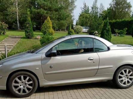 Peugeot 206 2004 m., Kabrioletas