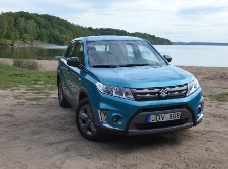 Suzuki Vitara 2016 m., Visureigis
