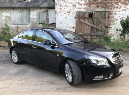 Opel Insignia 2009 m., Sedanas