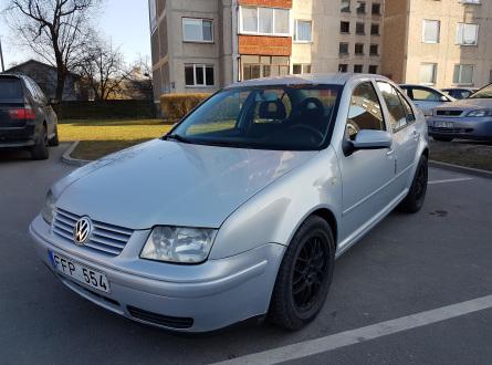 Volkswagen Bora 2000 m., Sedanas