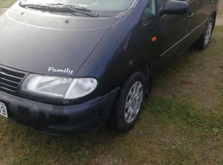 Volkswagen Sharan 1999 m., Vienatūris
