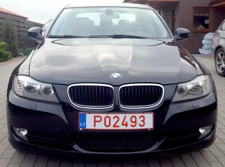 BMW 320 2009 m., Sedanas