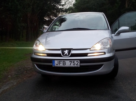 Peugeot 807 2005 m., Vienatūris